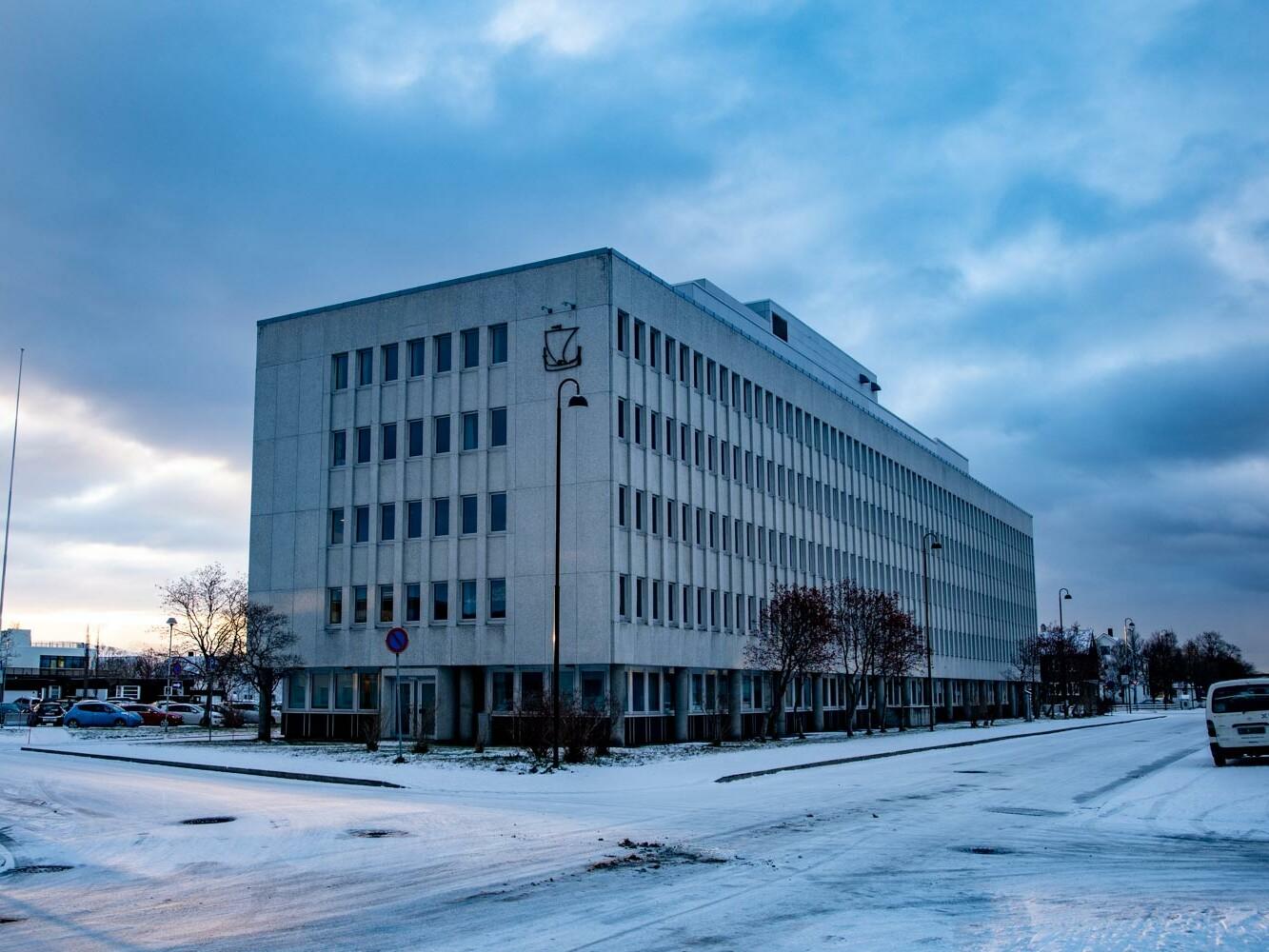 Bilde av fylkeshuset i Bodø.